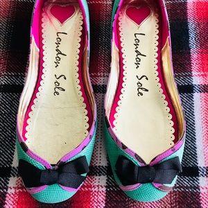 London Sole Ballerina Flats